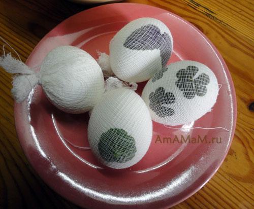 Красим яйца на Пасху - фото и способ окрашивания