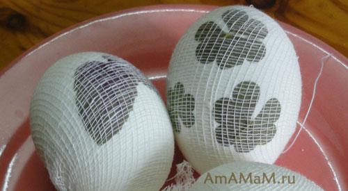 Технология окрашивания яиц на пасху с рисунком