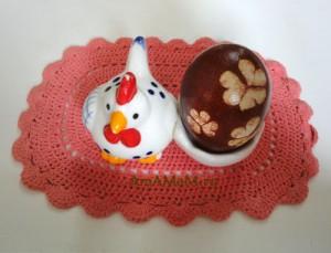 Курочка и яичко - пасхальные картинки