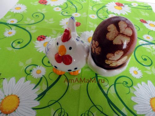 Фото красивых пасхальных яичек