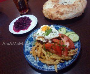 Рецепты простых и вкусных блюд на скорую руку - каартошка с бифштексом