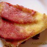 Десерт: суфле (клафути) с вишнями