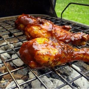 Куриный шашлык в майонезе - рецепт