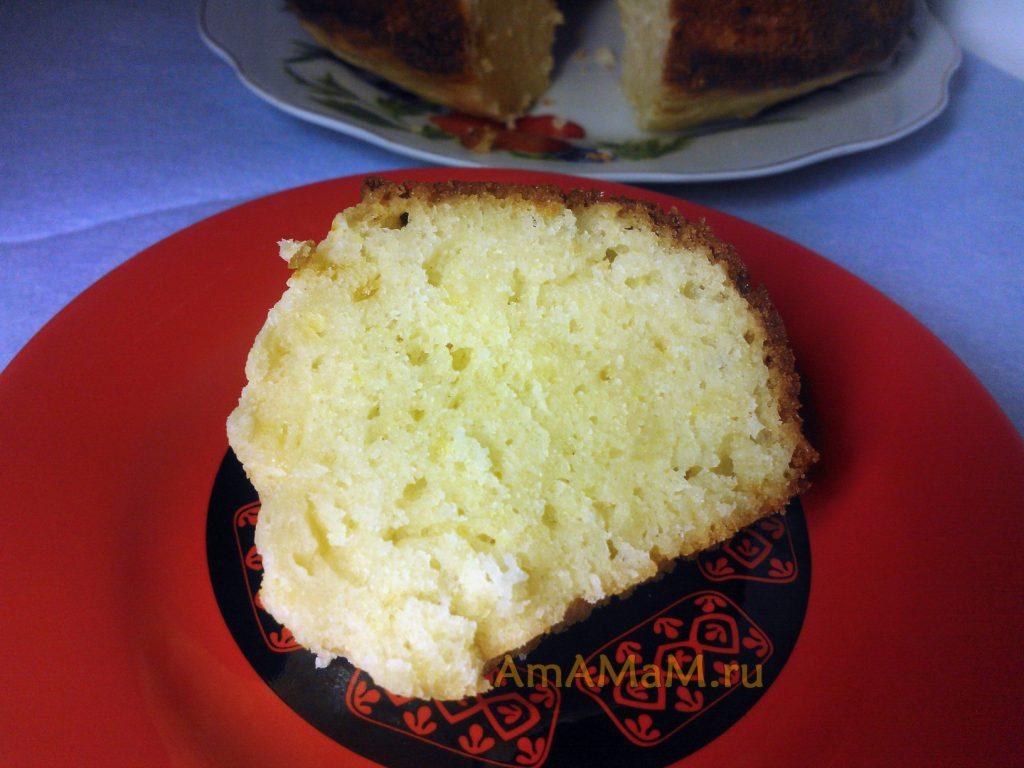 Фото и рецепт творожного кекса