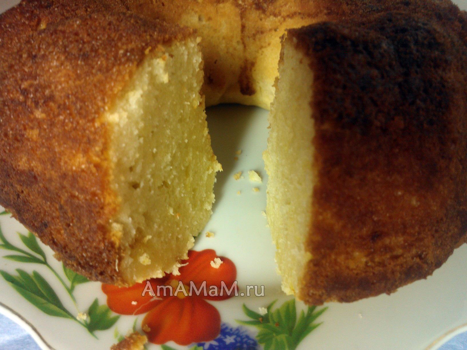 Кекс творожный рецепт пошагово в хлебопечке