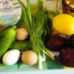 Приготовление холодных супов типа окрошки