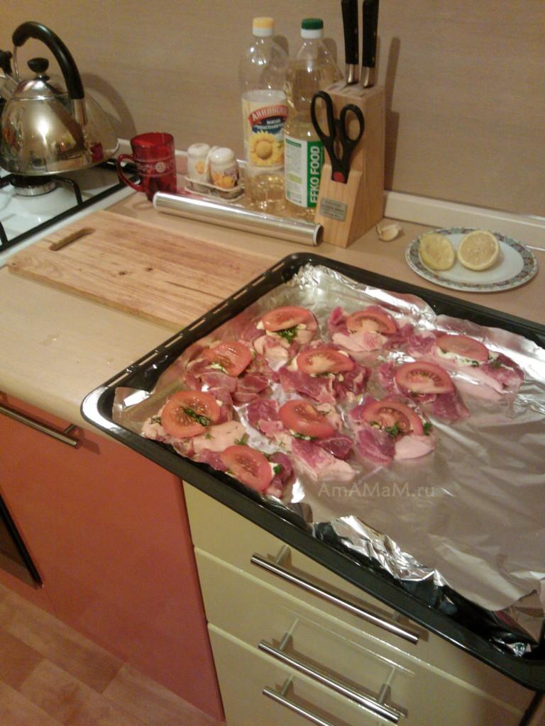 С чем делать мясо по-французски - рецепт
