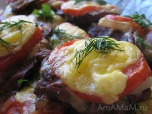 Свинина по-французски в духовке - рецепт