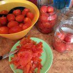 Как делать помидоры в собственном соку