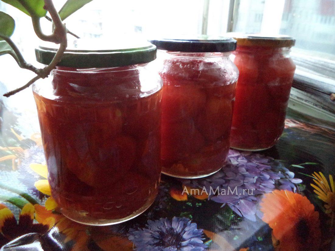 Помидоры с яблочным соком на зиму рецепты