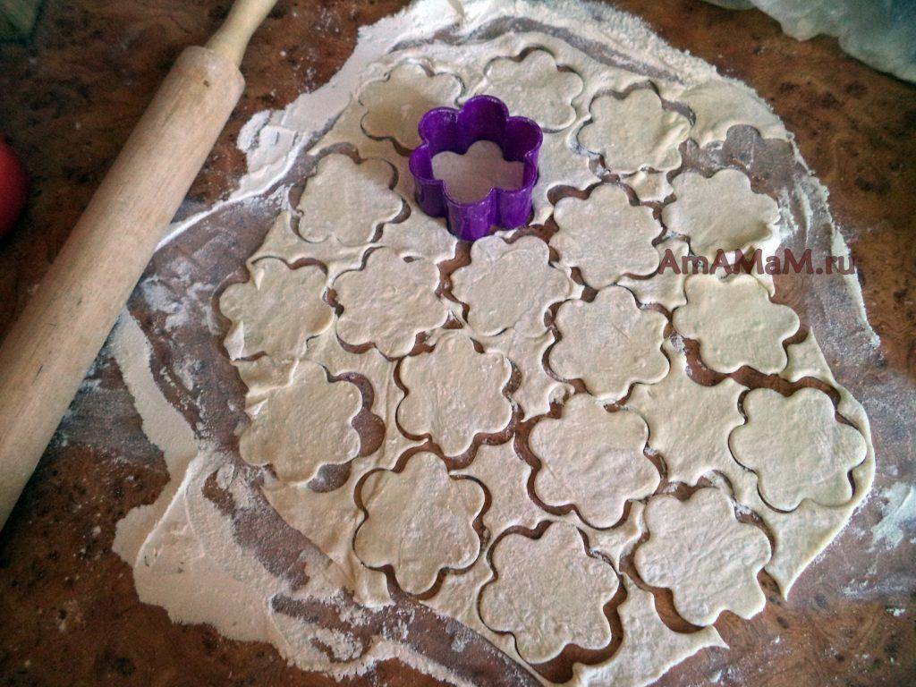 Фото приготовления вареников - виды формочек