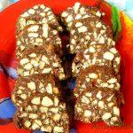 Шоколадная колбаска (торт без выпечки)