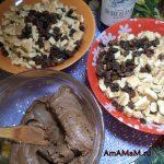 Приготовление шоколадной колбаски
