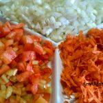 Овощи для заправки борща