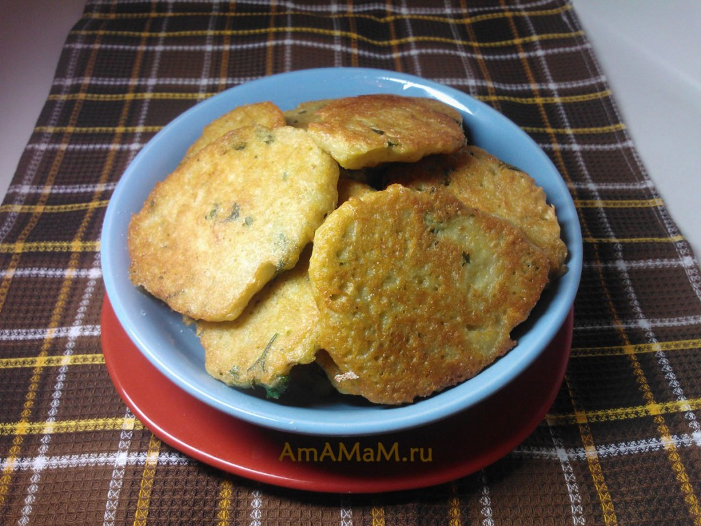 Рецепт драников из картошки с луком фото