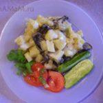 Картошка со свинухами