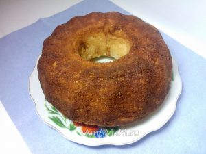 Черносливовый кекс