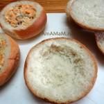 Как делают булочки с начинкой - простая и вкусная закуска