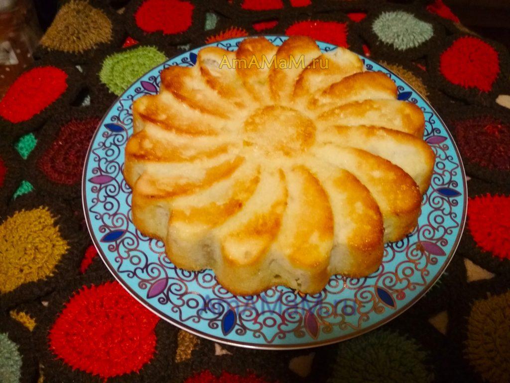 Пирог яблочный простой и вкусный