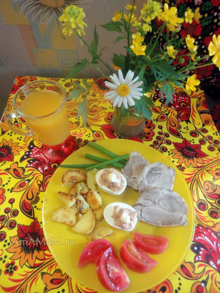 Быстрые закуски к столу - рецепты