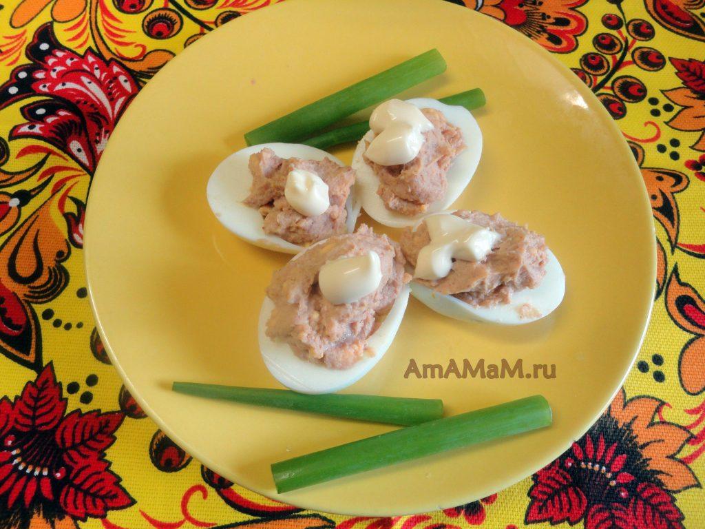 Рецепты фарширования яиц