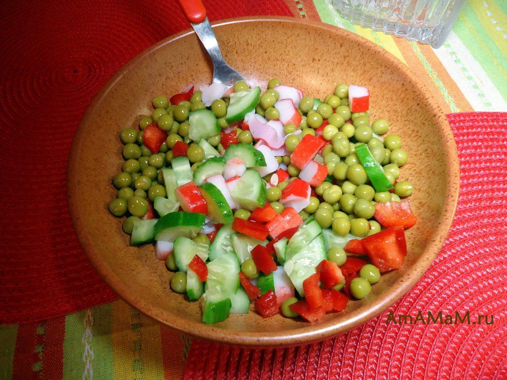 Рецепты салата из крабовых палочек - вкусно и просто