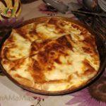 Пирог из лаваша с картошкой и фаршем