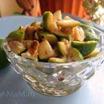 Фейхоа с грецкими орехами (салат, холодное варенье)