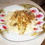 Куриные грудки по-мароккански с кус-кусом