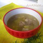 Суп из баранины с тархуном по-армянски