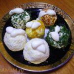 Еврейский салат из плавленых сырков, яиц и чеснока