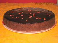 Вишневый торт с шоколадом
