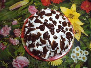 Сметанный торт с ананасами - Санчо Панса