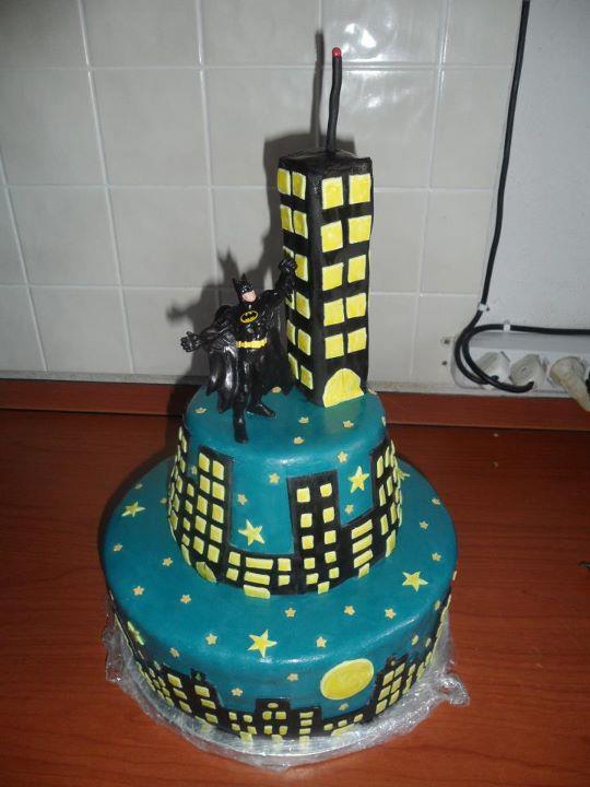 Как сделать торт Бенман (Бетмен) - для детского Дня Рождения