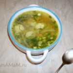 Зелёные щи – суп из белокочанной и цветной капусты