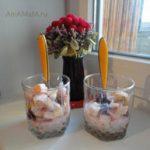 Фруктовый салат с вишнями и черносливом