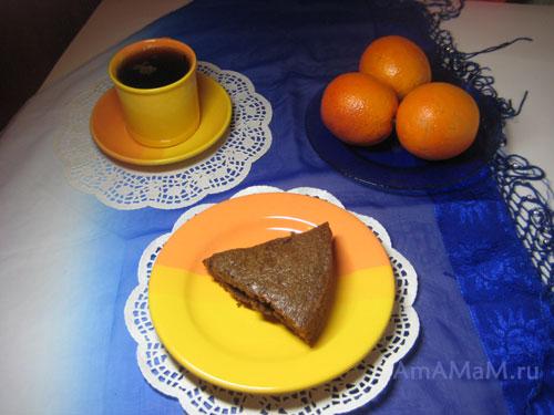 Постный шоколадный пирог - как сделать: рецепт с фото