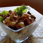 Куриный салат Уолдорф (Waldorf salad)