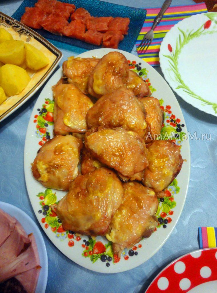 Куриные белрышки в майонеза - рецепт с фото