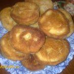 Жареные пирожки (бездрожжевое тесто на кефире)