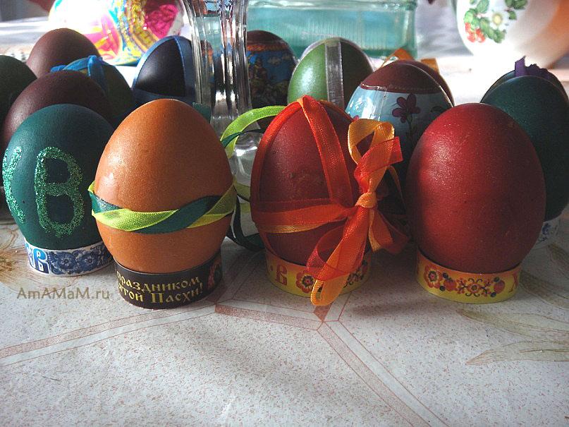 Простые и красивые идеи декорирования пасхальных яиц - фото