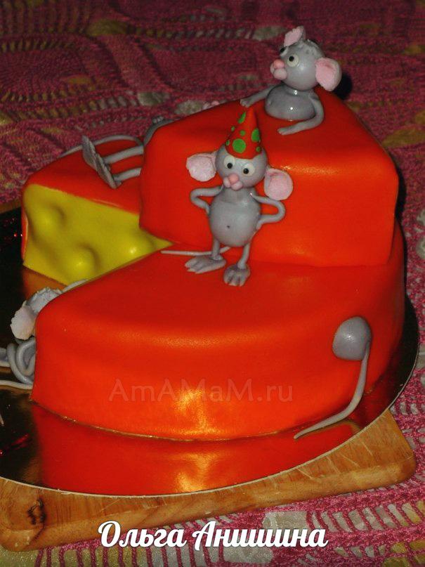 Фото тортов на детский День рождения