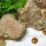 Свинина тушеная в йогурте (мацони)