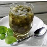Рецепт мятного киселя со щавелем