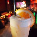 Молочный коктейль с апельсиновым соком