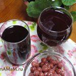 Компот из вишни (или других ягод)