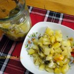 Салат из кабачков на зиму (варить 10 минут)