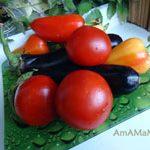 Салат из баклажанов на зиму (простой рецепт)