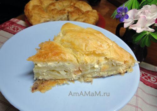 Что испечь из готового дрожжевого теста - рецепт простого и вкусного пирога с фото