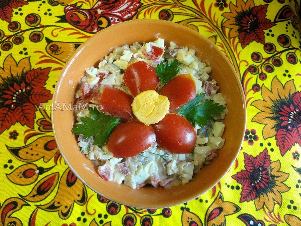 Что готовят из селедки - рецепты вкусных салатов